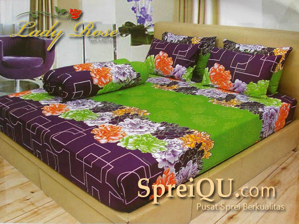 Sprei Lady Rose Floria