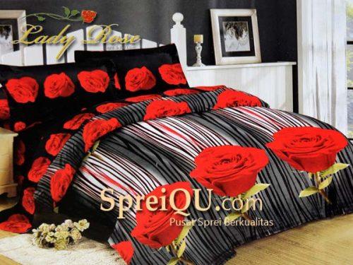 Sprei Lady Rose 3D Romantic Rose Queen 160x200