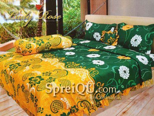 Sprei Lady Rose Borneo Queen 160x200