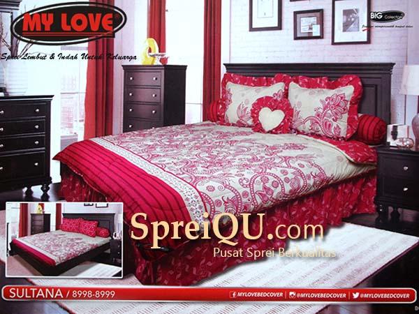 Superbe Sprei My Love Sultana King 180×200