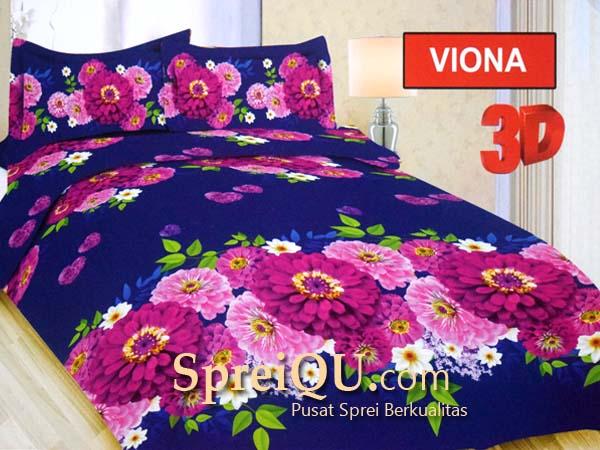 Sprei Bonita Viona 3D Queen 160x200