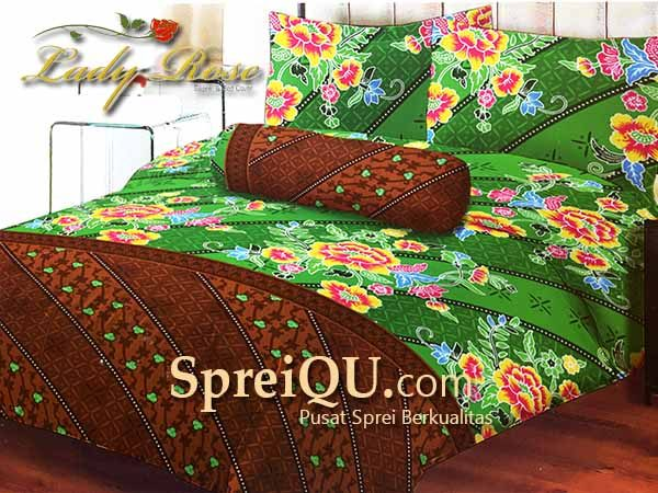 Sprei Lady Rose Rahayu Queen 160×200