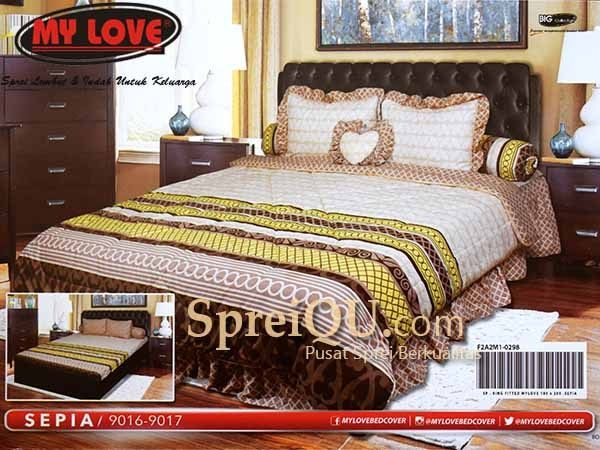 Delicieux Sprei My Love King 180x200