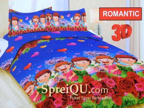 Sprei bonita Romantic 3D Queen 160x200