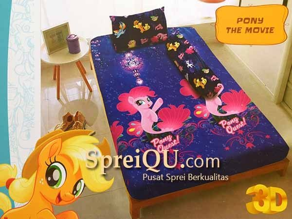 Sprei Santika Kintakun Deluxe Pony The Movie Single 120×200