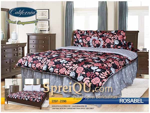 Charmant Bed Cover California Rosabel 180×200