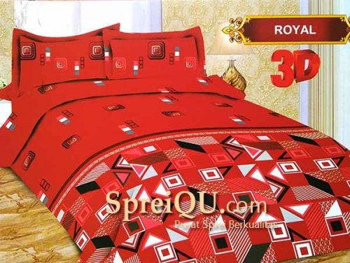 Sprei Bonita Royal 3D King 180x200