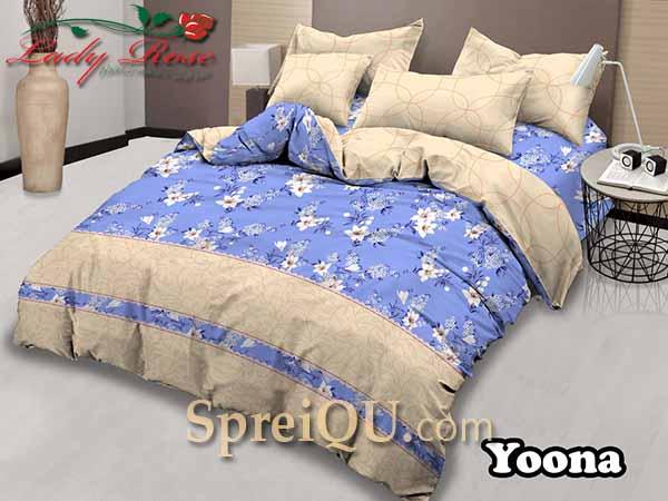 Sprei Lady Rose Yoona King 180x200 Spreiqu Sidoarjo